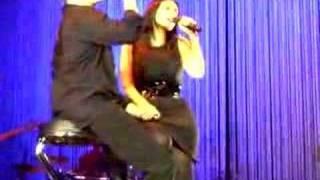 Miguel Bose y Laura Pausini