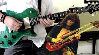 Led Zeppelin – Good Times Bad Times (Guitar Solo Cover)