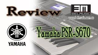 Yamaha PSR S670 Review (en español)