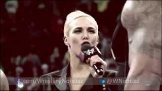 The Rock regresa a Raw y ataca a Rusev - Audio Español Latino