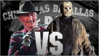 Freddy Krueger vs Jason. Chingonas Batallas de Rap de Titanes | Zoiket