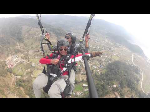 Parahawking Nepal 12Feb2013