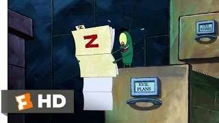 The SpongeBob SquarePants Movie (3/10) Movie CLIP - Plankton's Plan Z (2004) HD