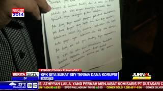 KPK Sita Surat SBY Terima Dana Korupsi