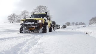 EXTREME SNOW OFFROAD  **Land Rover's & Jeep GC 5.9**  01/2017