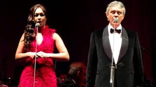 Andrea Bocelli & Rebecca Ferguson - Can't help falling in love (live at O2 Arena, London)