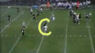 Grant Thomas Nover: Owosso Michigan Football Highlights 2008