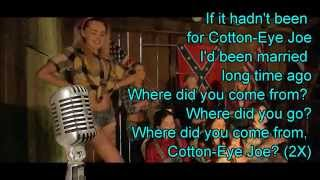 LEE MATTHEWS Cotton Eye Joe Lyric :)