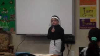 Alyssa as Florence Nightingale