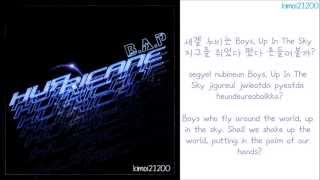 B.A.P - Hurricane [Hangul/Romanization/English] Color Coded HD