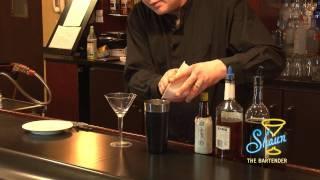 How to make a Bourbon Whiskey Manhattan