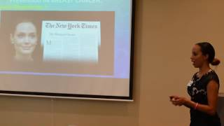 Dr. Essie K. Yates, M.D. Lecturing for Breast Cancer Awareness Month
