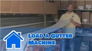 Gutter Maintenance : How to Load a Gutter Machine