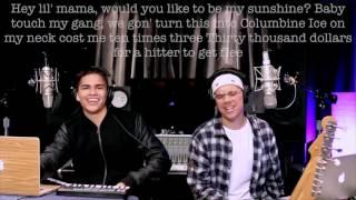 Fake Love, Broccoli & Caroline - Drake, D.R.A.M. & Aminé (William Singe & Alex Aiono Mashup) lyrics