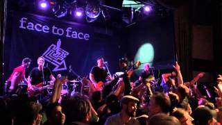Face To Face - Disconnected live at Bowery Ballroom Triple Crown show