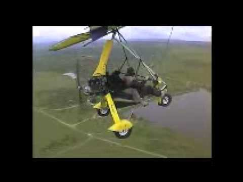 Ellie ultralight microlight trike flying in south africa