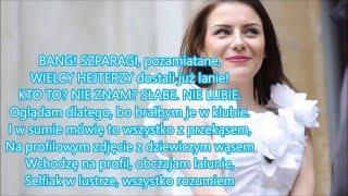 SzpaRap- YouTuberzy VS Hejterzy (tekst)