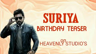 SURIYA birthday video TEASER on HEAVENLY STUDIO'S | A SURYA EDIT HOUSE |