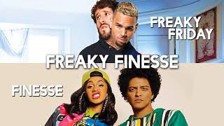 Freaky Friday vs. Finesse (MASHUP) Lil Dicky, Chris Brown, Bruno Mars