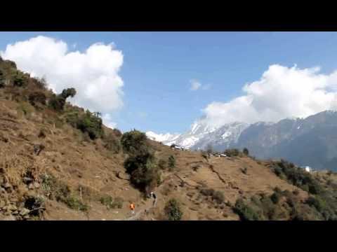 Annapurna Sanctuary: Chuile – Chhomrong (21-01-2012)