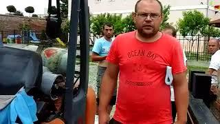 Alba24 Video: Motostivuitor afundat în podul Porții a IV-a a Cetății Alba Carolina