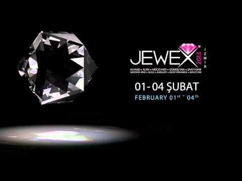 JEWEX Mücevher Altın Gümüş Alyans Takı Saat Fuarı İzmir