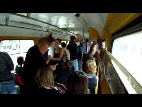 Lviv Tram ticket check procedures.GO PRO MP4