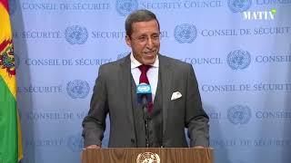 Le Maroc se félicite de l'adoption de la résolution 2440 sur la question du Sahara Marocain