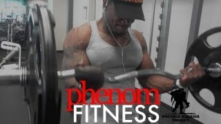 Inspiration & Motivation: Back & Biceps Workout ft. Sgt. Corwyn Collier | Phenom Fitness