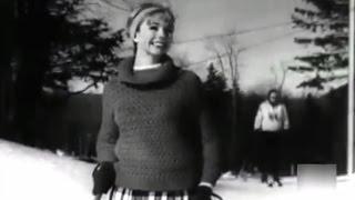 1962 Moda americana para nieve - American Ski Fashion Vermont Ski Resort
