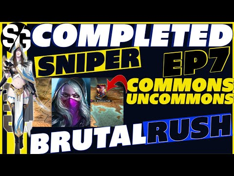 RAID SHADOW LEGENDS | BRUTALRUSH FINISHED! WINNING W/ SNIPER | 3-3 HELLHADES =)