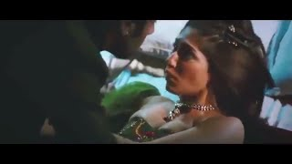 Reyhna Malhotra big bubs hot kiss and bed scene MMS width=