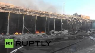 Ukraine: Donetsk train station bombarded by artillery fire