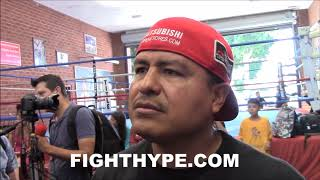 """""""IT IS PERSONAL"""" - ROBERT GARCIA SAYS VICTOR ORTIZ VS. JOSESITO LOPEZ WILL BE PERSONAL; EXPLAINS WHY"""