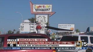 One person shot outside bar in Phoenix