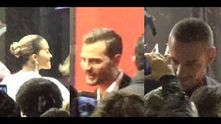 VIDEO Jamie Dornan, Liam Payne & Rita Ora @ Paris 6 february 2018 World premiere Fifty Shades Freed