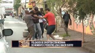 Olha o Gás!!! Novo hit causa sustos nas ruas