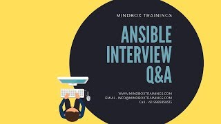 DevOps Online Training | Ansible Online Interview Q&A 2 | DevOps Online USA |MindBox Training Online