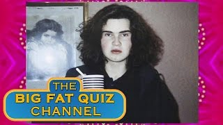 How the Panellists Looked in the 80s - The Big Fat Quiz of The 80's