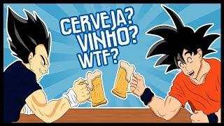 DRAGON BALL SUPER FAZ APOLOGIA AO ALCOOLISMO?