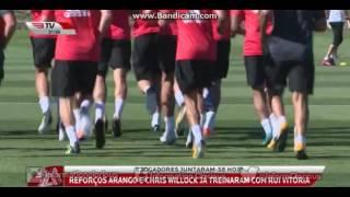 Primeiro treino do SL Benfica, na época 2017/18