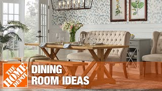 dining room ideas from The Home Depot