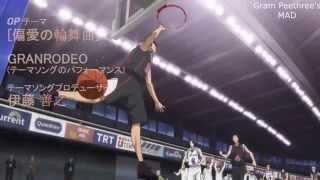 """[MAD] Kuroko no Basket OP 7 - """"Henai no Rondo"""" by GRANRODEO (Karneval OP)"""