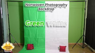 Item review - Nonwoven Photography Backdrop (1.8m x 2.7m / Green & White)