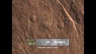 Found: Mars Orbiter Locates Beagle 2 Lander
