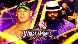 John Cena vs Bray Wyatt WrestleMania 30 Theme Song