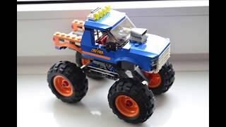 Unboxing of LEGO 60180 Monster Truck