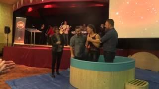 Sarah's Christian Testimony and Water Baptism - 29/11/15