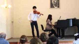 Azerbaijan's national music ''Sari Gelin'' violin version