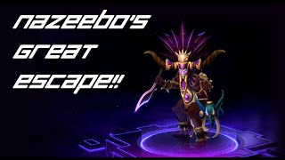 Heroes of the Storm Highlights: Nazeebo's Great Escape